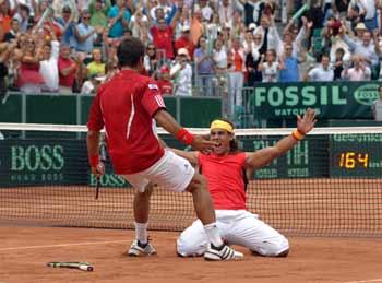 Davis Cup tennis final 2008
